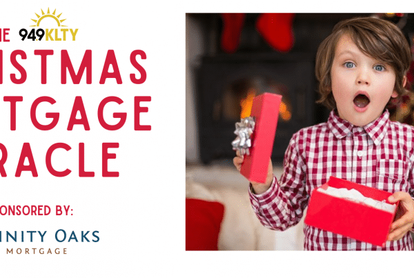 2020 94.9 FM Christmas Mortgage Miracle Winner