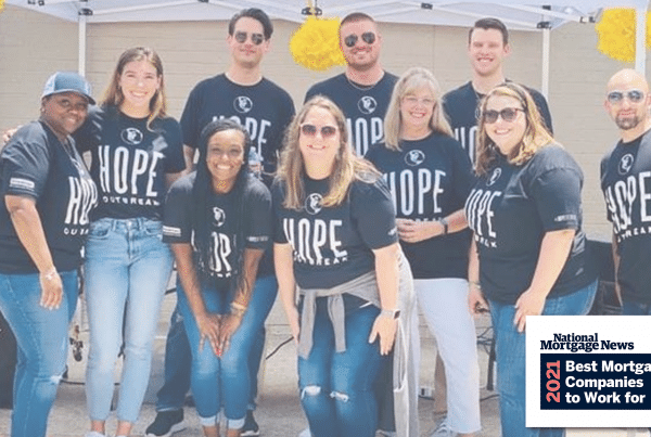 Trinity Oaks Mortgage Named 2021 Best Mortgage Company to Work For in the Country